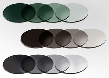 Image of variants of photochromic lenses