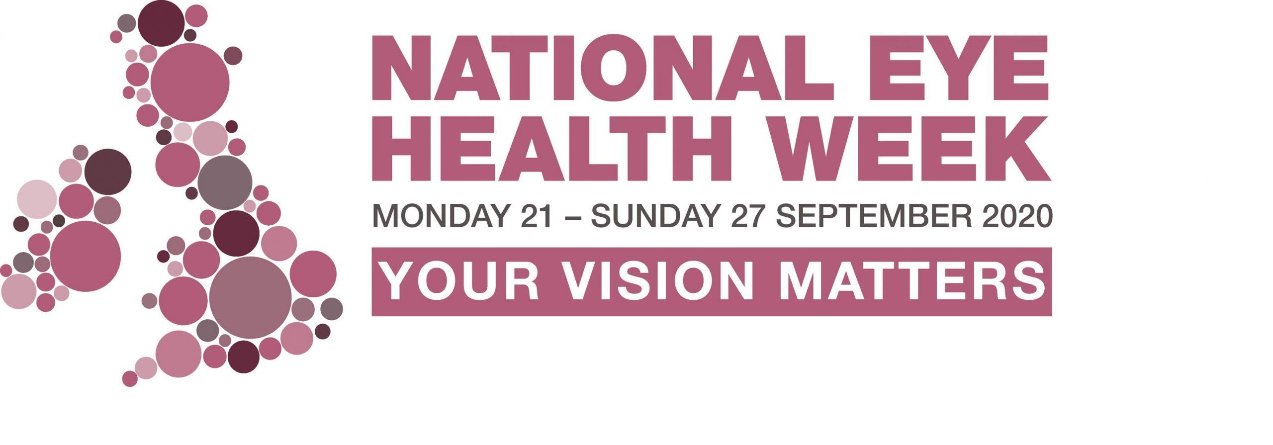 National Eye Health Week 2020 logo