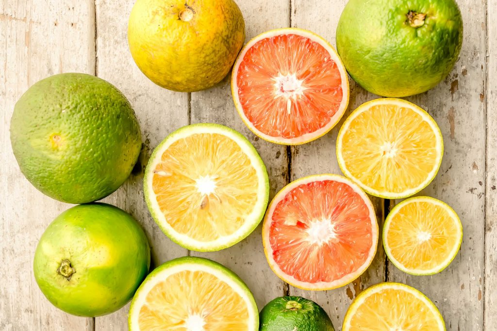Image of citrus fruits - linked to  eye health benefits