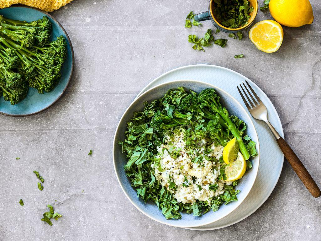 Image of leafy green vegetables.